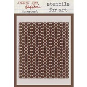 Wendy Vecchi Stencils for Art - Honeycomb WVSFA018