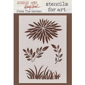 Wendy Vecchi Stencils for Art - From The Garden WVSFA023