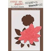 Wendy Vecchi STAMP-it Stencil-it: In Full Bloom WVSTST005