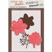 Wendy Vecchi STAMP-it Stencil-it: Build A Blossom WVSTST006