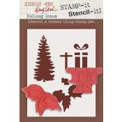 Wendy Vecchi STAMP-it Stencil-it: Holiday Icons WVSTST011