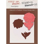 Wendy Vecchi STAMP-it Stencil-it: Marigold WVSTST013