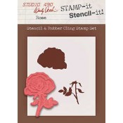 Wendy Vecchi STAMP-it Stencil-it: Rose WVSTST016