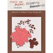 Wendy Vecchi STAMP-it Stencil-it: Bouquet WVSTST018
