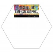 Tim Holtz Alcohol Ink Hard-Core Art Panel: Hexagons TAC69737