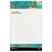 Tim Holtz Alcohol Ink Yupo: White Heavystock TAC63339