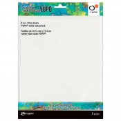Tim Holtz Alcohol Ink Yupo Cardstock: Heavystock TAC69744