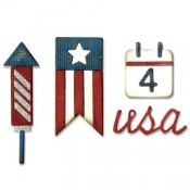 Tim Holtz Sidekick Side-Order Set: Americana 662712