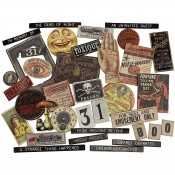 Tim Holtz Idea-ology Baseboards: Halloween TH94060