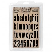 Tim Holtz Idea-ology Lower Block Foam Stamps - TH93578