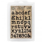 Tim Holtz Idea-ology Lower Type Foam Stamps - TH93579