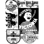 Tim Holtz Components - Hotel COM005