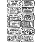 Tim Holtz Components Ticket CMS007