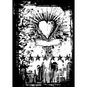 Tim Holtz Components - Urban Tattoo COM036