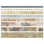 Tim Holtz Idea-ology Design Tape: Journey - TH93358