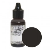 Tim Holtz Distress Archival Ink Reinker: Black Soot - ARD51091