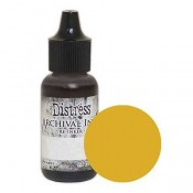 Tim Holtz Distress Archival Ink Reinker: Fossilized Amber ARD66354