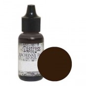 Tim Holtz Distress Archival Ink Reinker: Ground Espresso - ARD51107