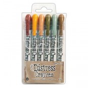 Tim Holtz Distress Crayons Set #10 TDBK51800