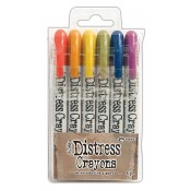 Tim Holtz Distress Crayons: Set 2 TDBK47919