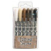 Tim Holtz Distress Crayons: Set 3 TDBK47926