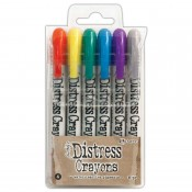 Tim Holtz Distress Crayons: Set 4 TDBK51749