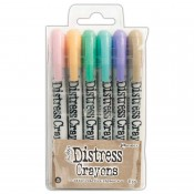 Tim Holtz Distress Crayons: Set 5 TDBK51756