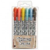 Tim Holtz Distress Crayons Open Stock: Picket Fence TDB49692