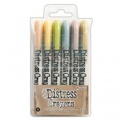 Tim Holtz Distress Crayons Set #8 TDBK51787
