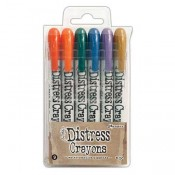 Tim Holtz Distress Crayons Set #9 TDBK51794