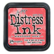 Tim Holtz Distress Ink Pad: Abandoned Coral - TIM43188