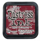 Tim Holtz Distress Ink Pad: Aged Mahogany - TIM21407