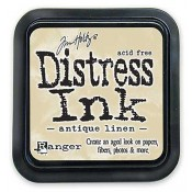 Tim Holtz Distress Ink Pad, Antique Linen - TIM19497