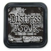 Tim Holtz Distress Ink Pad, Black Soot - TIM19541