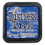 Tim Holtz Distress Ink Pad, Blueprint Sketch - TIM43195