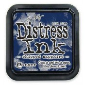 Tim Holtz Distress Ink Pad: Chipped Sapphire - TIM27119