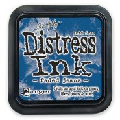 Tim Holtz Distress Ink Pad: Faded Jeans - TIM21452