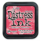 Tim Holtz Distress Ink Pad: Festive Berries - TIM32861