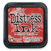 Tim Holtz Distress Ink Pad: Fired Brick - TIM20202