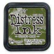 Tim Holtz Distress Ink Pad, Forest Moss - TIM27133