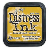 Tim Holtz Distress Ink Pad: Fossilized Amber - TIM43225