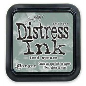 Tim Holtz Distress Ink Pad: Iced Spruce - TIM32878