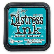 Tim Holtz Distress Ink Pad: Peacock Feathers - TIM34933