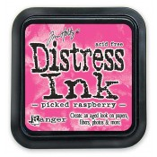 Tim Holtz Distress Ink Pad: Picked Raspberry - TIM34995