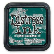 Tim Holtz Distress Ink Pad: Pine Needles - TIM21476