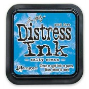 Tim Holtz Distress Ink Pad: Salty Ocean - TIM35015