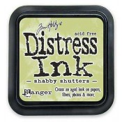 Tim Holtz Distress Ink Pad: Shabby Shutters - TIM21490