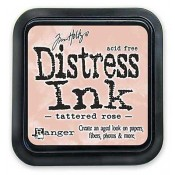 Tim Holtz Distress Ink Pad: Tattered Rose - TIM20240