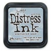 Tim Holtz Distress Ink Pad: Weathered Wood - TIM20257