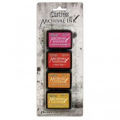 Tim Holtz Distress Archival Ink Mini Kit #1 - AITK64855